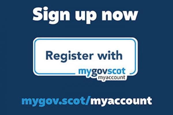 Register with MyAccount